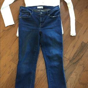 Denim - Women's LOFT skinny jeans